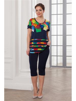 Комплект одежды CLEO. Цвет: темно-синий, желтый, зеленый