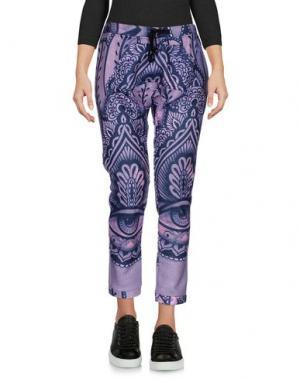 Повседневные брюки HAPPINESS. Цвет: светло-фиолетовый