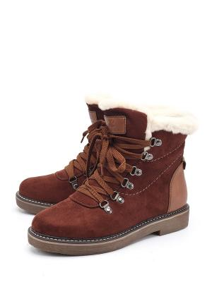 Ботинки Lazzaro. Цвет: коричневый