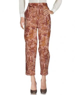 Повседневные брюки MES DEMOISELLES. Цвет: пастельно-розовый