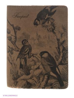 Обложка для паспорта A.Valentino. Цвет: бежевый