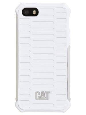 Защитный чехол ActiveUrban iPhone 5/5s (CUCA-WHSI-I5S-0A3) Caterpillar. Цвет: белый