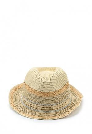 Шляпа Marks & Spencer. Цвет: бежевый