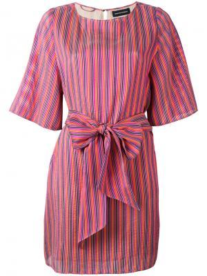 Платье в полоску Vanessa Seward. Цвет: многоцветный