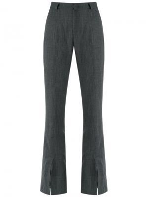 Прямые брюки Tufi Duek. Цвет: серый