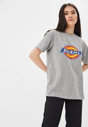 Футболка Dickies. Цвет: серый
