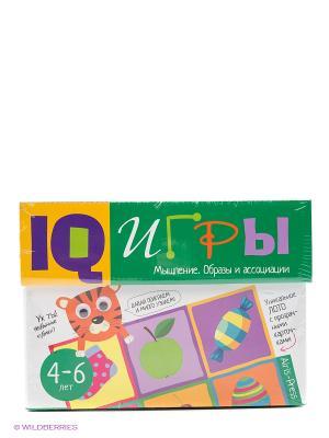 Сундучок с  IQ играми. Мышление. Образы и ассоциации. 4-6 лет АЙРИС-пресс. Цвет: зеленый, белый