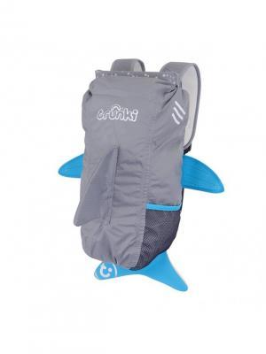 Рюкзак универсальный АКУЛА TRUNKI. Цвет: серый, голубой, белый