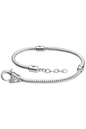 Ожерелье с застежкой карабин Sterlinks. Цвет: none