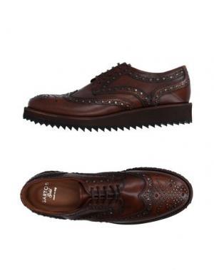 Обувь на шнурках SARTORI GOLD. Цвет: темно-коричневый