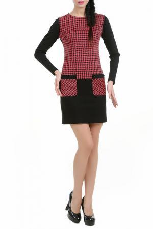 Платье Ярина LESYA. Цвет: красный