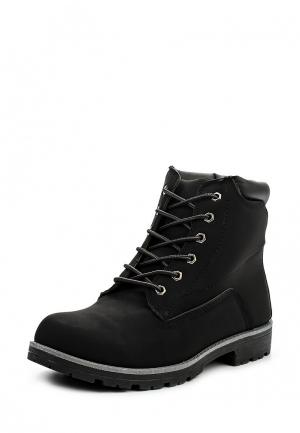 Ботинки Leerd. Цвет: черный