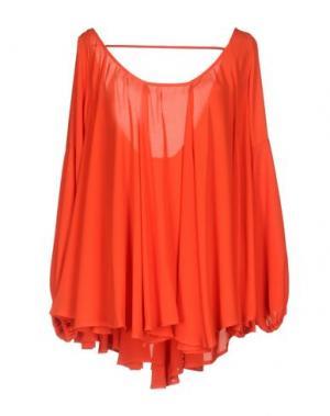 Блузка TRY ME. Цвет: коралловый