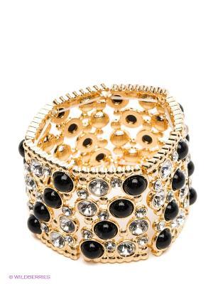 Браслет Royal Diamond. Цвет: золотистый, черный