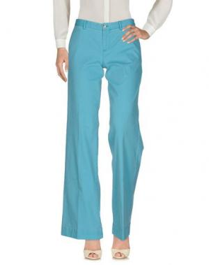 Повседневные брюки PT0W. Цвет: бирюзовый