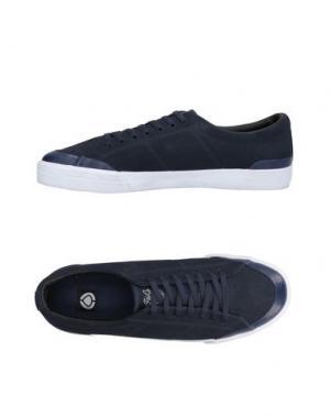Низкие кеды и кроссовки C1RCA. Цвет: темно-синий