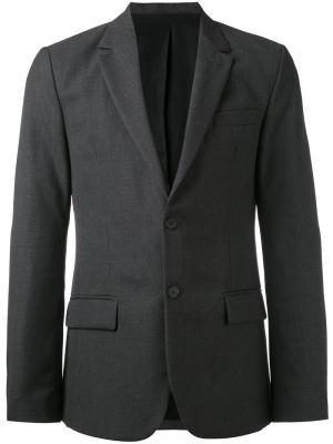 Lined 2 Button Jacket Ami Alexandre Mattiussi. Цвет: серый