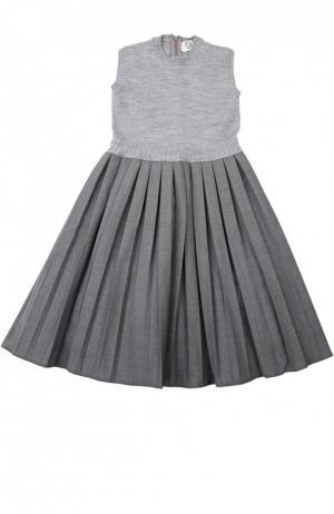 Платье Caf. Цвет: серый