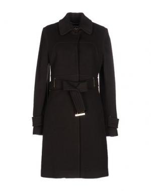 Пальто CRISTINAEFFE. Цвет: темно-коричневый