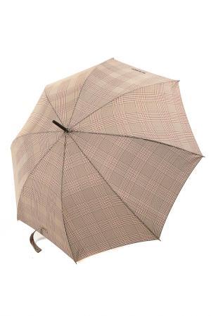 Зонт трость Isotoner. Цвет: коричневый