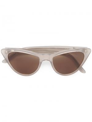 Солнцезащитные очки Louis Prism. Цвет: коричневый