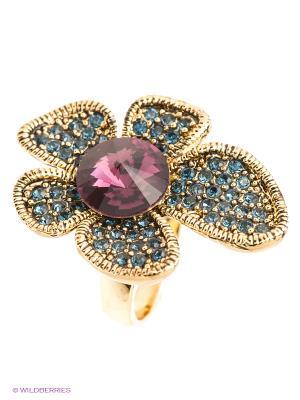 Кольцо Bijoux Land. Цвет: фиолетовый