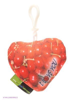 Брелок Сердце MAXITOYS. Цвет: красный