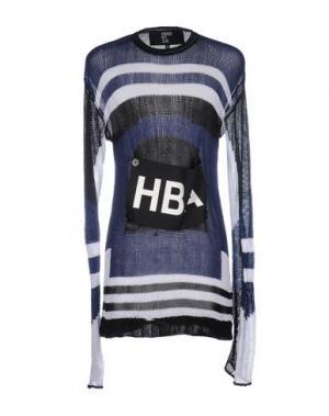 Свитер HBA HOOD BY AIR. Цвет: синий