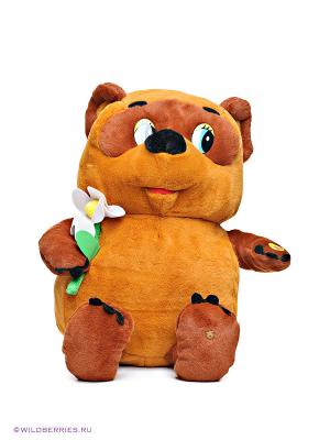 Мягкая игрушка Винни Пух Мульти-пульти. Цвет: коричневый