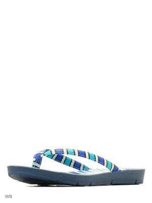 Пантолеты Inblu. Цвет: синий