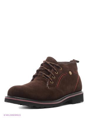 Ботинки Kari. Цвет: темно-коричневый