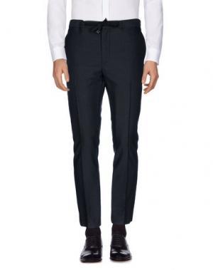 Повседневные брюки MARC JACOBS. Цвет: стальной серый