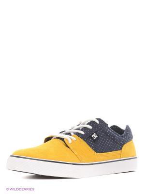 Кеды TONIK SE M SHOE XBKC DC Shoes. Цвет: темно-синий, желтый