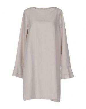 Короткое платье SOUVENIR. Цвет: светло-серый