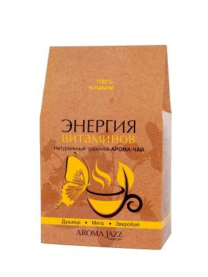 АРОМА-ЧАЙ Энергия витаминов, 80 гр АРОМАДЖАЗ. Цвет: темно-коричневый