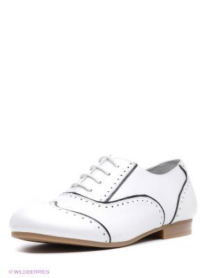 Туфли Vitacci. Цвет: белый, синий