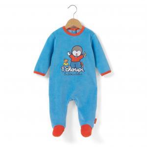 Пижама, 3 мес. - 2 года T'CHOUPI. Цвет: синий + красный