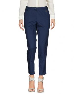 Повседневные брюки KORALLINE. Цвет: темно-синий