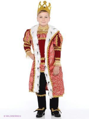 Карнавальный костюм Король Батик. Цвет: красный
