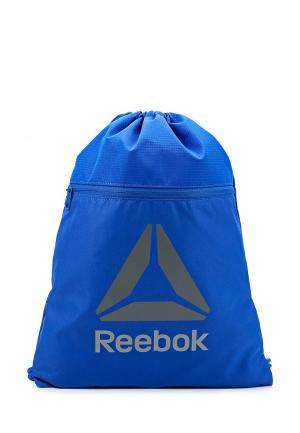 Мешок Reebok. Цвет: синий