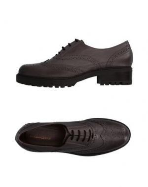 Обувь на шнурках ANGELA GEORGE. Цвет: серый