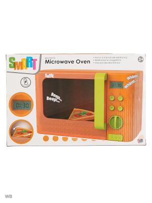 Микроволновая печь Smart HTI. Цвет: зеленый, светло-зеленый, салатовый, оранжевый
