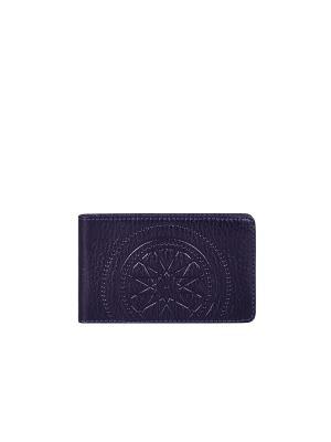 Визитница карманная FABULA. Цвет: темно-фиолетовый