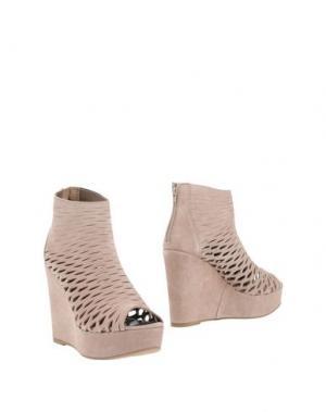 Полусапоги и высокие ботинки BRYAN BLAKE. Цвет: голубиный серый