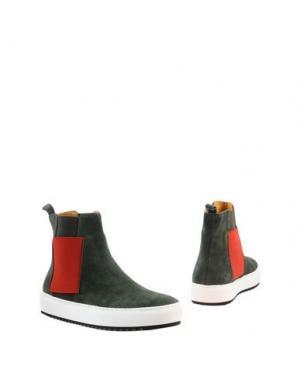 Полусапоги и высокие ботинки JOYKS. Цвет: зеленый