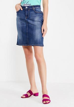 Юбка джинсовая H.I.S. Цвет: синий