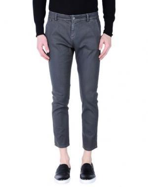 Джинсовые брюки-капри MANILA GRACE DENIM. Цвет: серый