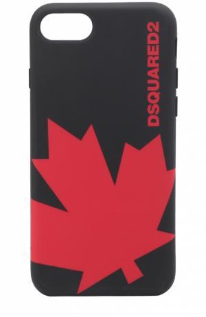 Чехол для iPhone 6/6S с принтом Dsquared2. Цвет: черный