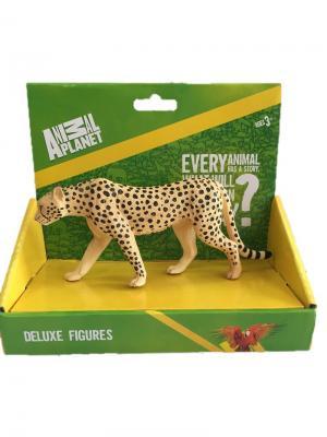 Фигурка Mojo (Animal Planet) в индивидуальной упаковке - Гепард самец (XL). Цвет: черный, темно-бежевый
