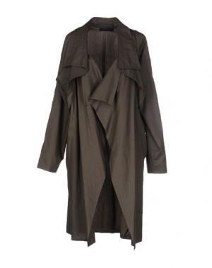 Легкое пальто MARIA CALDERARA. Цвет: серый